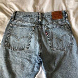 Wedgie fit Levi's jeans